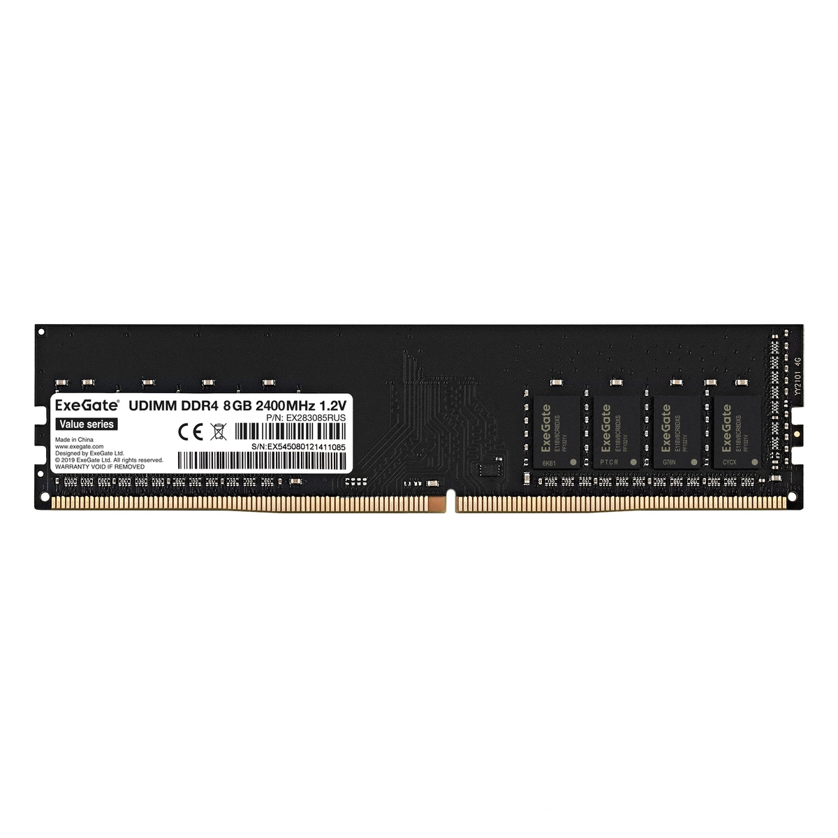 Value DIMM DDR4 8GB <PC4-19200> 2400MHz
