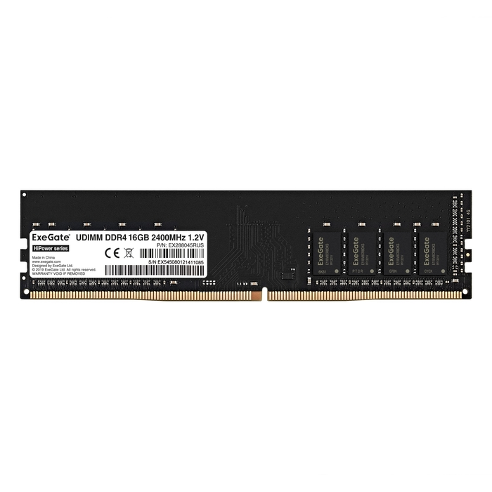 HiPower DIMM DDR4 16GB <PC4-19200> 2400MHz